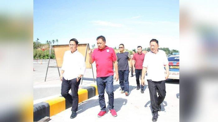 Gubernur Olly Meninjau Jalan Tol Manado-Bitung, Target Saat Lebaran Tol Bisa Beroperasi Penuh