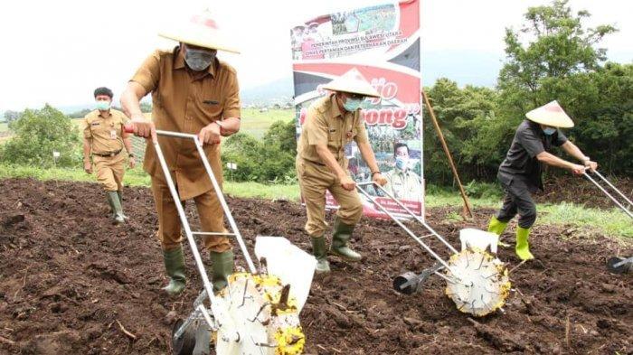 Gubernur Olly Temui Petani di Perkebunan Wawo, Ungkap Program Asuransi Petani