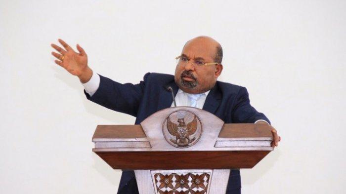 Gubernur Papua Lukas Enembe.