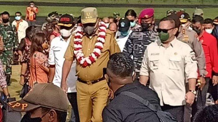 Gubernur Sulut Olly Dondokambey Kunjungi Pulau Kakorotan Talaud di Perbatasan Indonesia -Filipina