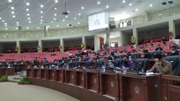DPRD Putuskan Pertanggungjawaban Kinerja Gubernur Olly Dondokambey di Tahun 2020