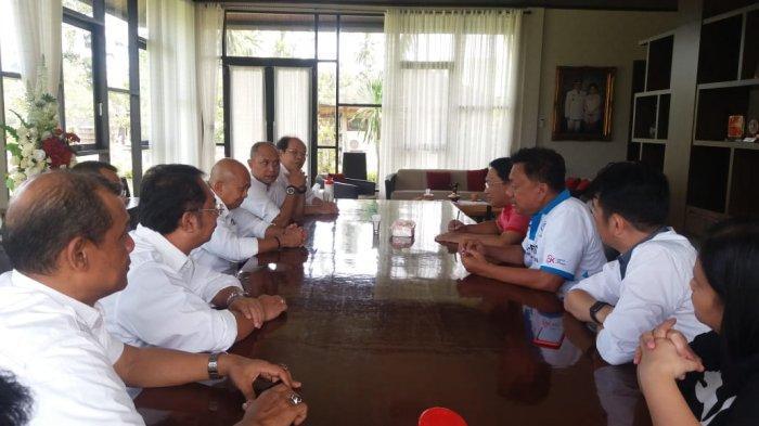 Pimpinan Kompas Gramedia Silaturahmi dengan Gubernur Sulut Olly Dondokambey