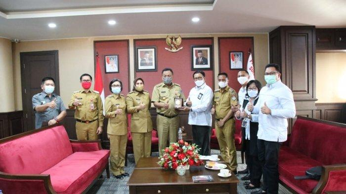 Kunjungi Gubernur Sulut dan Bupati Se-Sulut, PLN Suluttenggo Jalin Komunikasi Stimulus Covid-19