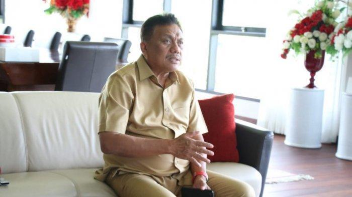 Gubernur Olly Vicon dengan PGI,  Ungkap Strategi Gandeng Lembaga Agama Salurkan Sembako