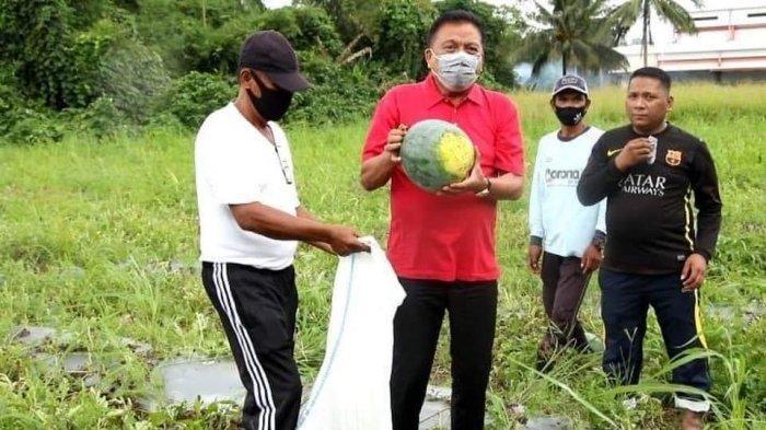 Gubernur Sulut, Olly Dondokambey pun meminta masyarakat mendukung program pemerintah 'Mari Jo Ba Kobong'
