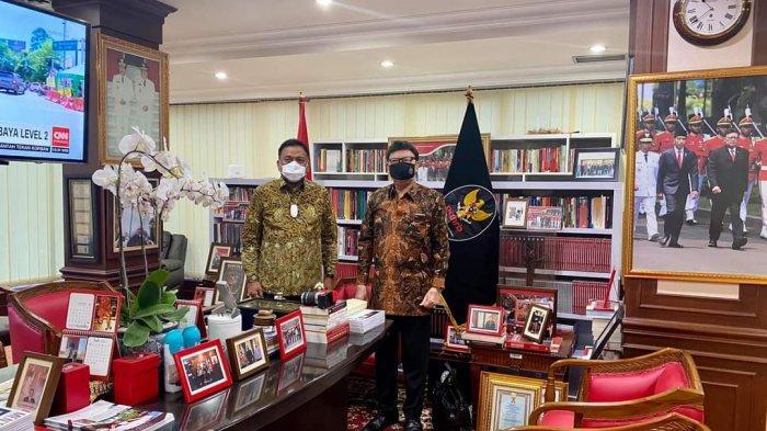 Gubernur Sulut Olly Dondokambey Temui Menteri Tjahjo Kumolo, Bahas Mutasi Pejabat Pemprov?