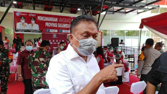 Gubernur Sulut Olly Dondokambey Belum Bisa Divaksinasi Covid-19, Penyebab Tekanan Darah Tinggi