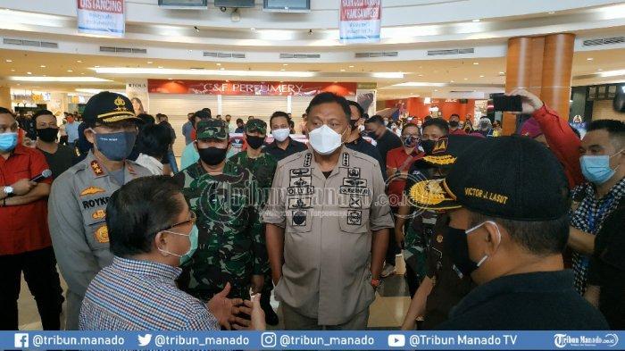 BREAKING NEWS: Tinjau Kesiapan Hadapi New Normal, Gubernur Olly: Mantos Siap Operasi Lagi