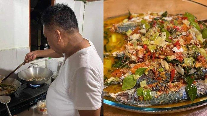 Gubernur Sulut Olly Dondokambey Jadi Koki Masak untuk Menu Woku Belanga