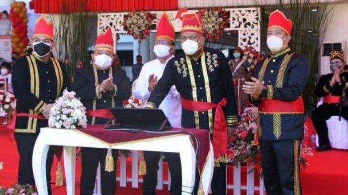Gubernur Sulut Olly Dondokambey Luncurkan 3 Aplikasi Inovasi Terbaru Pemprov di HUT ke-57
