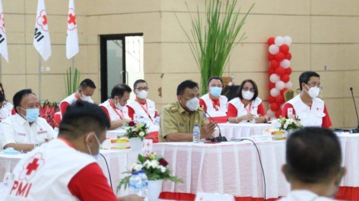 Gubernur Olly Dondokambey buka Musyawarah Kerja PMI Sulut