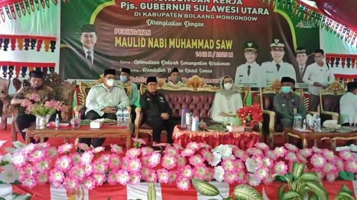 Pembangunan Pesantren dan Islamic Centre Masuk Visi dan Misi Gubenur Sulut Olly Dondokambey