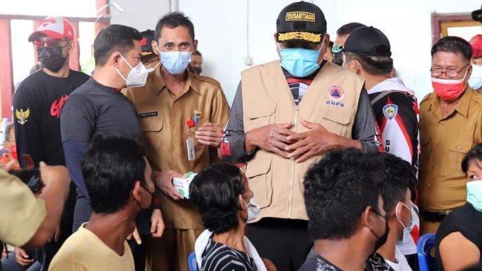 Gubernur Sulut, Olly Dondokambey mengadakan kunjungan ke Pulau Talise, dan Pulau Gangga, Minahasa Utara, Senin (22/6/2021).