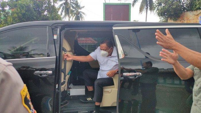 Dilarang Mudik, Gubernur Sulut Olly Dondokambey Tinjau Langsung Perbatasan Sulut-Gorontalo