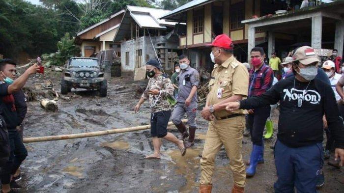 Gubernur Olly Dondokambey Pastikan Kementerian PUPR Benahi Infrastruktur Buntut Banjir Bandang Mitra