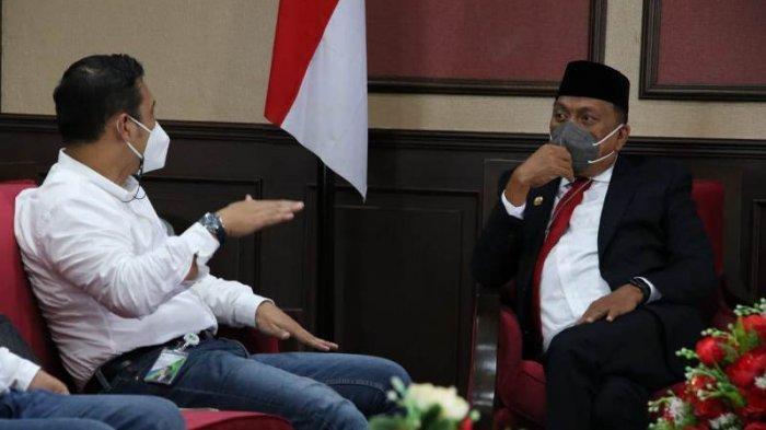 Gubernur Sulut Olly Dondokambey Terima Audiensi Direktur Keuangan BPJS Ketenagakerjaan