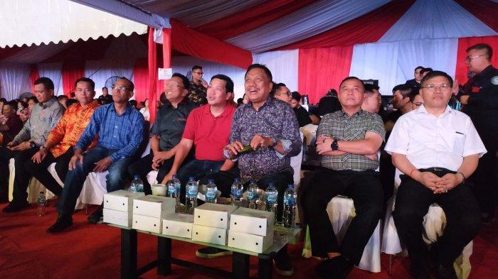 Gubernur Sulut Olly Tiba, Konser North Sulawesi Christmas Festival feat Agnez Mo Dibuka