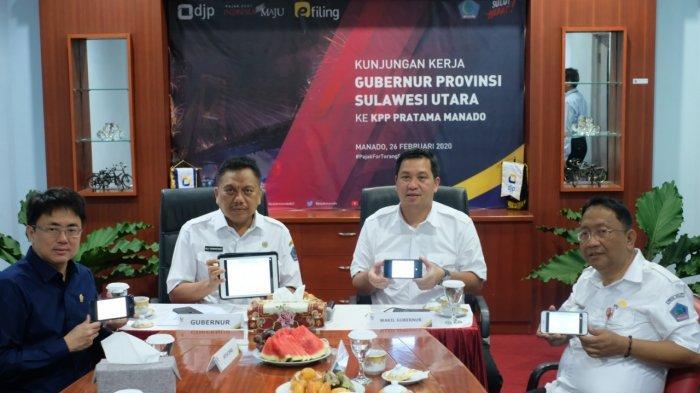 Gubernur OD Ajak Wajib Pajak di Sulut Lapor SPT TahunanMelalui e-Filing