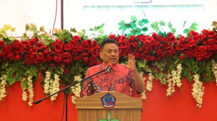Olly Dondokambey Sambut Kedatangan Tjahjo Kumolo, Ini Agenda Menteri PANRB di Sulut