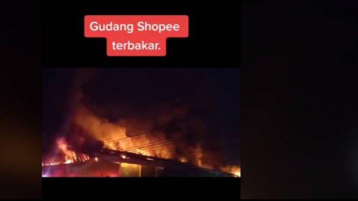 Gudang Shopee Terbakar, Pengiriman Pesanan Aman dan Siap Ganti Rugi Barang Penjual