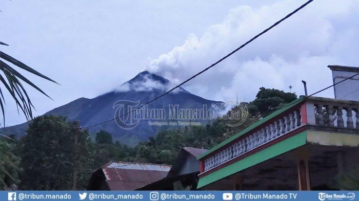 Aktivitas Gunung Karangetang Mulai Meningkat Kembali, Status Masih Level Siaga