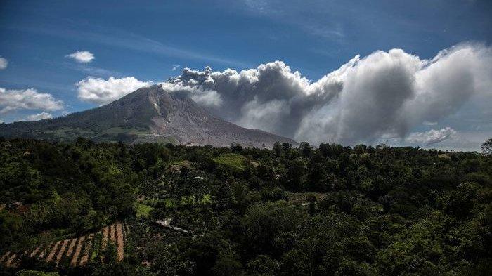 Aktivitas Gempa Gunung Sinabung Sudah Lebih dari 30 Kali, Masyarakat Diminta Jauhi Zona Merah