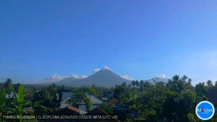 Pantauan Aktivitas Gunung Soputan Hari Ini, Asap Kawah Tidak Teramati