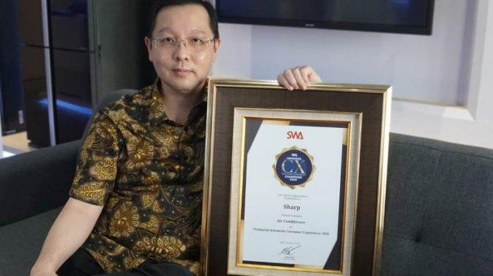 Sharp Indonesia Raih Indonesia Customer Experience Awards 2020 Kategori AC