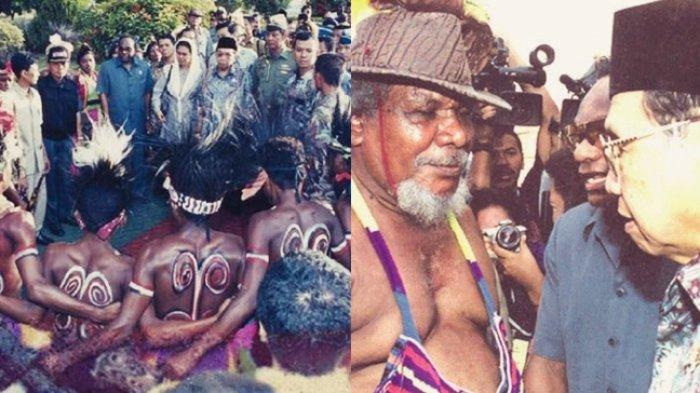 KISAH Gusdur Bertemu OPM & Pemimpin Papua Tanpa Penjagaan Ketat, Biarkan Bintang Gejora Dikibarkan