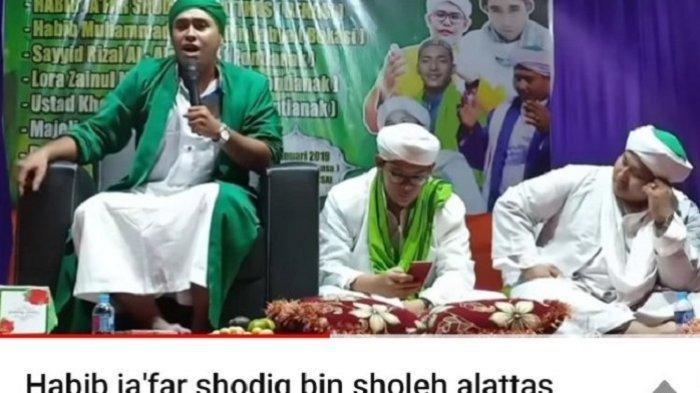 SosokJafar Shodiq Alattas, Anggota FPI Ditangkap Karena HinaMaruf Amin Diungkap Warga