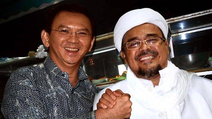 Rizieq Shihab Bawa-bawa Nama Ahok di Sidang Pledoi, Upaya Balas Dendam Politik Terendus