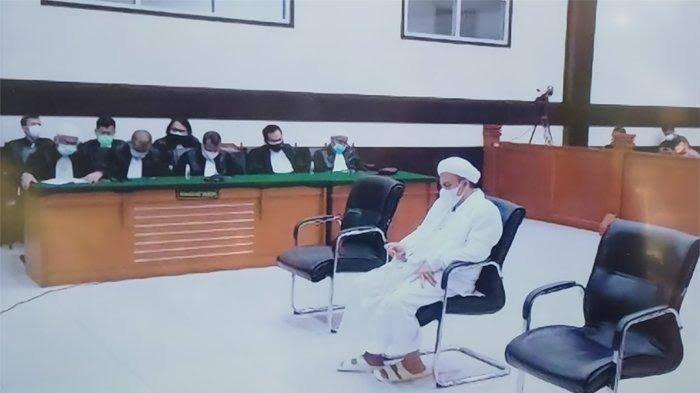 Kalah di Tingkat Banding, Vonis Rizieq Shihab Dikuatkan, 'Syukuri dan Jalani dengan Sabar'