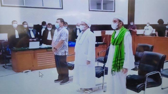 Habib Rizieq Shihab Divonis 4 tahun penjara. Sikapi Putusan Hukuman yang dijatuhkan Majelis Hakim.