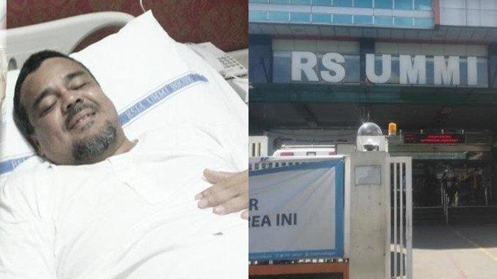 Habib Rizieq Shihab positif Virus corona (Covid-19) dan dirawat Rumah Sakit UMMI.