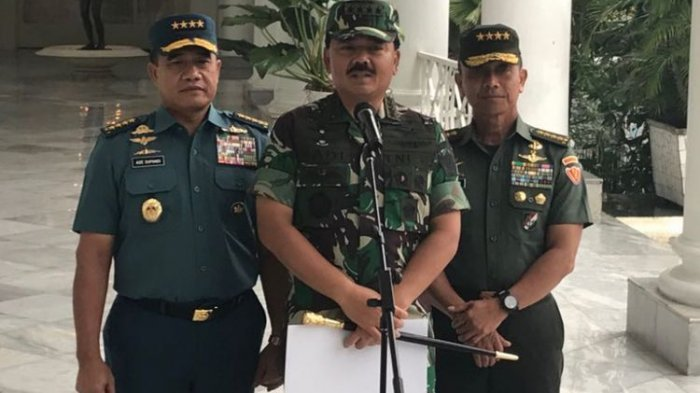 Kunjungi Pondok Pesantren Banten, Panglima TNI Ajak Masyarakat Tidak Sebarkan Ujaran Kebencian