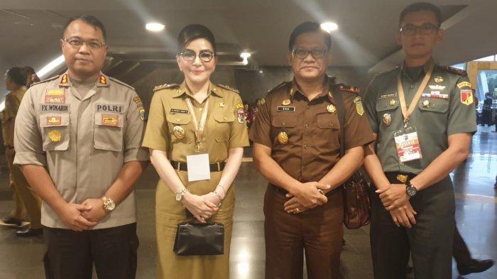 Hadiri Rakornas Forkopimda se-Indonesia, Tetty Paruntu : Sinergitas Akan Tetap Jalan
