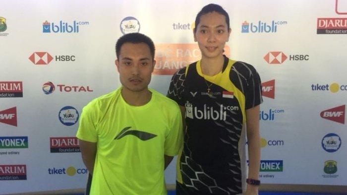 Laju Ganda Campuran Indonesia Hafiz Faizal dan Gloria E Widjaja Terhenti di Babak Perempat Final