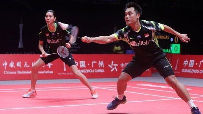 Hasil Perempat Final Thailand Open II 2021: Hafiz/Gloria Takluk dari Ganda Campuran Malaysia