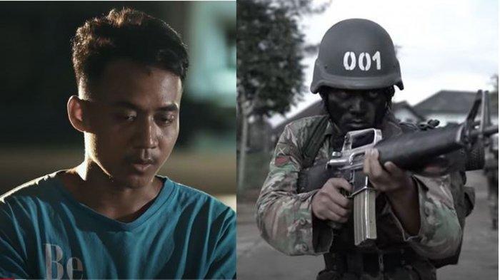 Haidir Anam Kuli Bangunan yang Kini Jadi Prajurit TNI AD