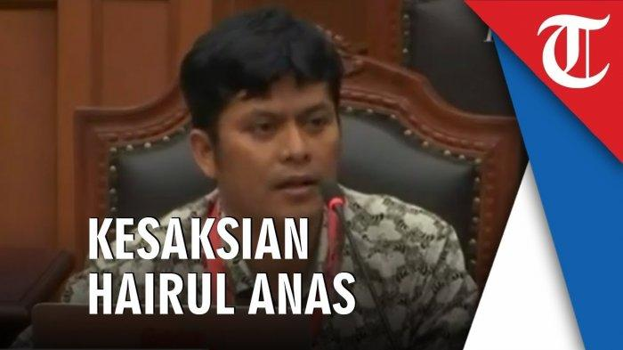 Profil Hairul Anas Suaidi Ponakan Mahfud MD, Saksi 02 Sidang Sengketa Pilpres, Alumni Kampus Top Ini