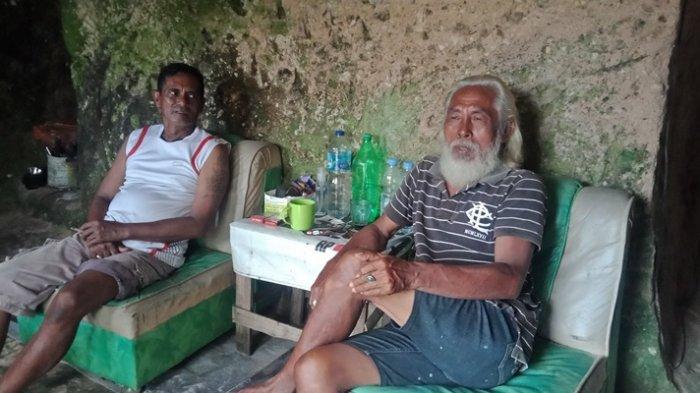 Hais Abjul (59), warga Desa Kema III, Kecamatan Kema, Kabupaten Minahasa Utara (Minut), Sulawesi Utara.
