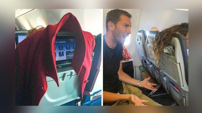 Hal Yang Tak Boleh Dilakukan Saat di Pesawat, Mengambil Tempat Penumpang Lain