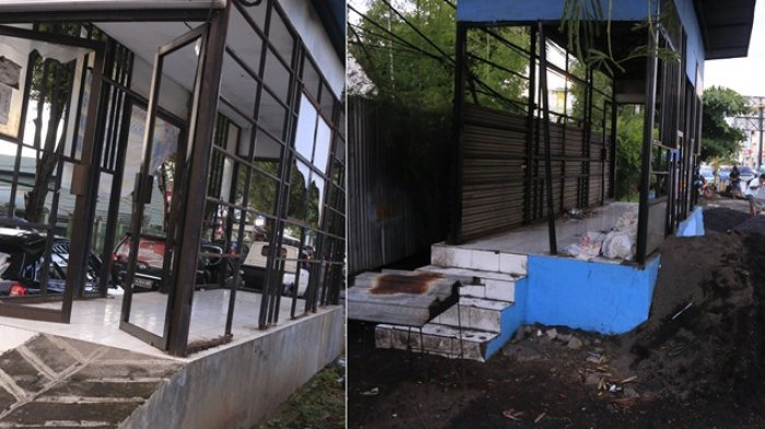 Ini Prosedur Usulan Pembongkaran Halte Rusak di Manado