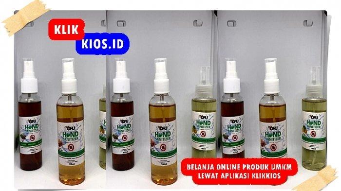 Belanja Yuk! Ada Hand Sanitizer Ofu di Kios UMKM Sulut