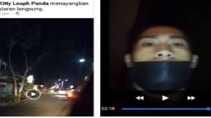 VIRAL Wajah Pejambret Hp Terekam Kamera, Ponsel Dirampas Saat Korban Sedang Siaran Langsung di FB