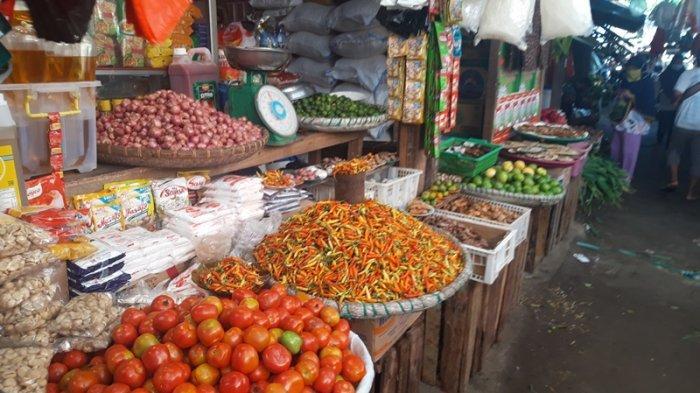 Harga Cabai Rawit di Pasar Lolak Belum Stabil, Masih Sentuh Harga Rp 90 per-Kg