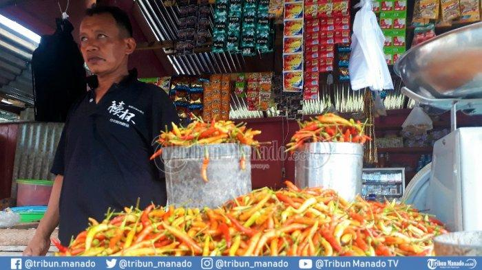 Di Kepulauan Talaud Harga Cabai 'Pedas' Tembus Rp140.000