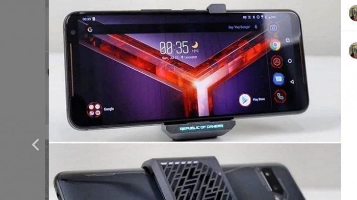 Smartphone untuk Para Gamers, Asus ROG Phone II dengan RAM 12 GB, Cek Spesifikasi Lengkapnya di Sini