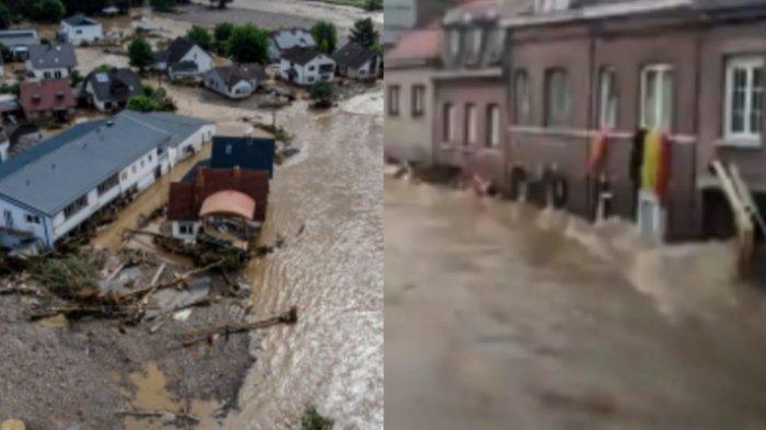 Hari Berkabung Nasional, Duka Mendalam Tragedi Banjir Bandang di Eropa, Belanda-Belgia Tenggelam