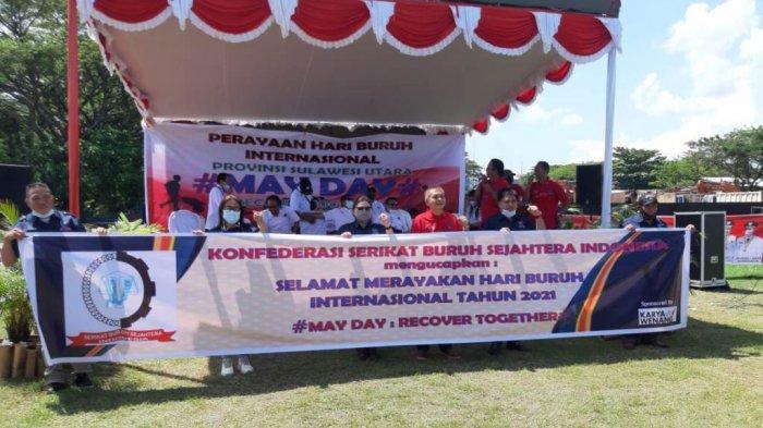 Tak Ada Demo Saat May Day, FSBSI Minahasa Selatan Fokus Perjuangkan Nasib Buruh